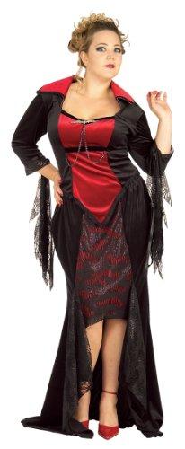 Vampira Kostüm Scarlet (Rubies Deutschland 2 17465 OSZ - Scarlet Vampira Größe)