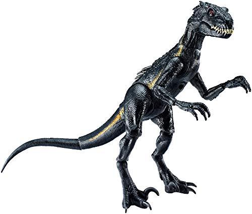 Echte Kostüm Dinosaurier - Mattel FVW27 - Jurassic World Indoraptor Dino Figur, beweglich