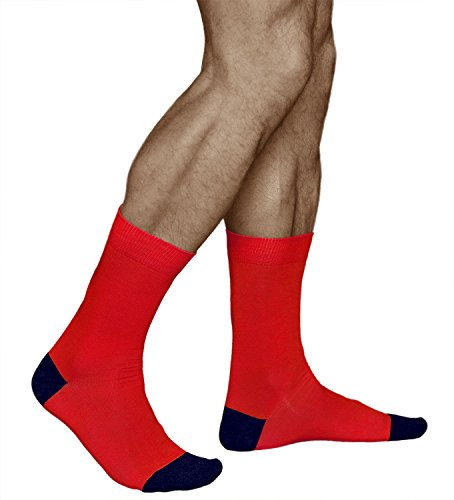 mens-fun-coloured-red-socks-combed-cotton-vitsocks-joy-9-11-red