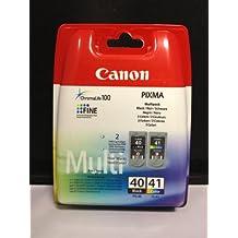 Cartuchos de tinta color (negro y/de) de Canon Pixma MX300 MX310 MP150 MP160 MP170 MultiPass Pixma iP1200, iP1300 iP1600 iP1700 iP1800 iP1900 iP2600 iP2500 MP140 MP190 MP210 MP180 iP2400 iP2200/MP450 Originaldruckerpatronen MP460 MP220 MP470/