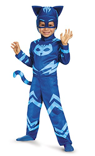 Disguise Catboy Classic Toddler PJ Masks Costume, Large/4-6 by (Costumi)