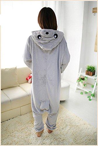 Imagen de abyed kigurumi pijamas unisexo adulto traje disfraz adulto animal pyjamas,león marino adulto talla xl para altura 175 183cm alternativa