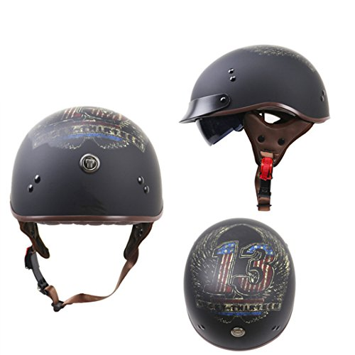 Harleeyr Chopper Bike Style Moycle Helm T55 Series -