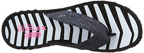 Skechers Go Flex-vitalità 14258 Sandali Navy/blu Nero