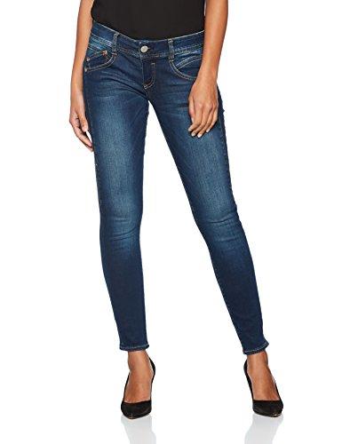 Herrlicher Damen Jeans Gila Slim, Blau (Clean 051), W28/L30 (Herstellergröße: 28)