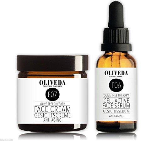 Oliveda Anti Aging Gesichtsserum 30ml + Anti-Aging Creme 30ml