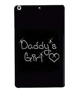 PrintVisa Designer Back Case Cover for Apple iPad Mini (daddy's girl)