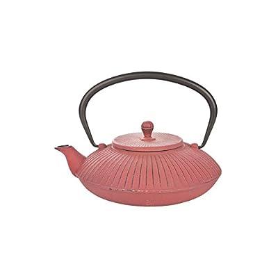 Cosy & Trendy 131156 Stria Théière Fonte Rouge 1,15 L