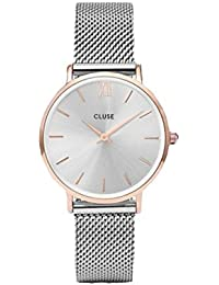 Reloj cuarzo para mujer Cluse Minuit Mesh CLUCL30025