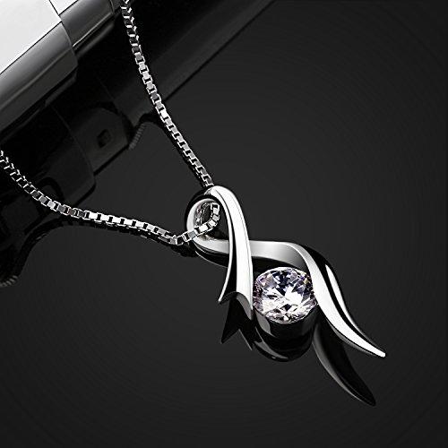 Btcher necklaces 925 sterling silver pendant necklaces cubic btcher necklaces 925 sterling silver pendant necklaces cubic zirconia aloadofball Images