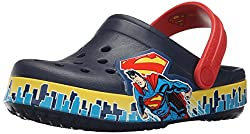 Crocs Crocband Superman Clog K Boys Slip on [Shoes]_202680-4L9-C6C7