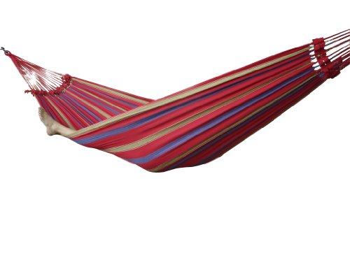 vivere-braz211-hamac-bresilien-coton-double-regal-rouge-240-x-160-cm