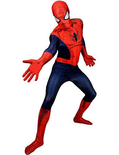 Morphsuits Costume da Spiderman,  XX-Large 6'2