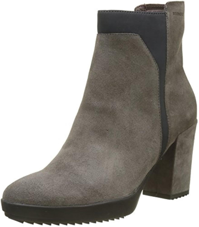 Stonefly Damen Oprah 2 Velour Chelsea Boots