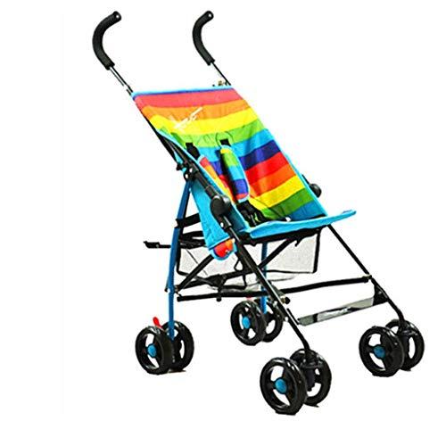 WENYAO Kinderwagen, sitzen oder liegen, leichte Kinderwagen, tragbare Klapp-Buggys