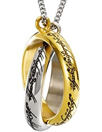 One Ring Entwined Necklace The Hobbit The Noble Collection