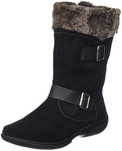 Hotter Women Melody High Boots, Black (Black), 5 UK 38 EU