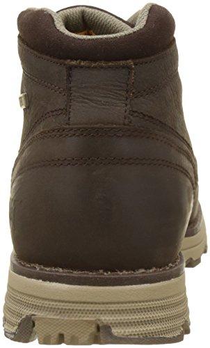 Caterpillar Herren Elude WP Chukka Boots, Braun Braun (Dark Brown)