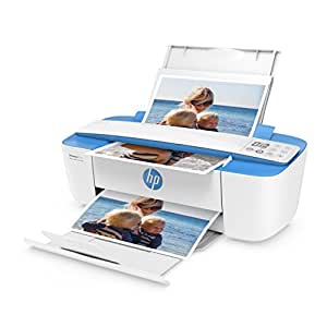 HP DeskJet 3720 (J9V93B) Multifunktionsdrucker (Drucker, Scanner, Kopierer, HP Instant Ink ready, WLAN, ePrint, Airprint, USB, 4800 x 1200 dpi) weiß/blau