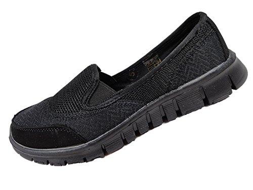 Sconosciuto, Sneakers Da Donna Nere