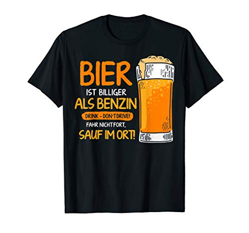 Sauf im Ort Bier billiger als Benzin