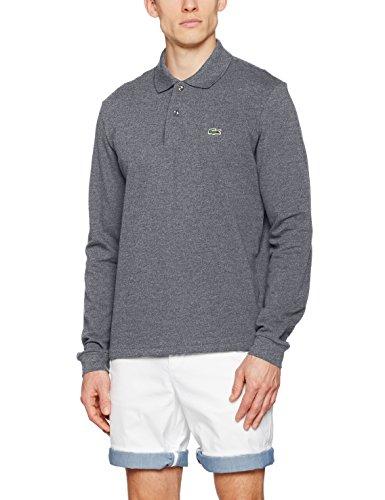 Lacoste L1312-00 Herren Poloshirt,Blau (Bleu Marine Mouline 17H), Gr.XXX-Large (Herstellergröße: 8) (Marine-blau-t-shirt Klassiker)