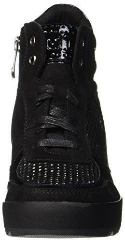 Marco Tozzi 25239, Bottes Femme Noir (Black Comb)