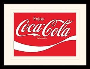 Photos encadrées Coca-cola (logo) (30 x 40cm)