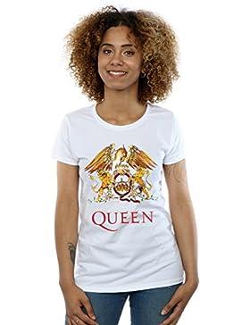 Queen Donna Crest Logo Maglietta