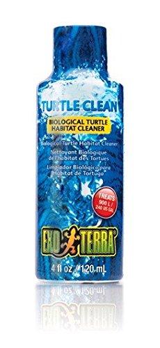 Kies Reiniger Aquarium (Exo Terra Turtle Clean - Biologischer Reiniger für Schildkröten-Lebensräume 120 ml)