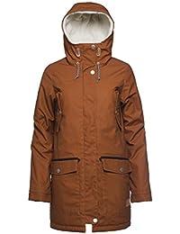 CLWR (Colour Wear) Mujer Range Parka, otoño/invierno, mujer, color Adobe, tamaño M