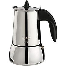 Bo-Camp Cafetera BC Espresso Maker plateada 6/tazas