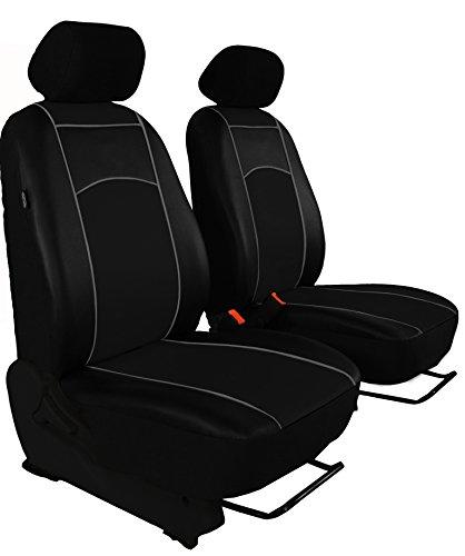 Vordersitzbezüge, Sitzbezüge passend für VW Golf I-VII - DESIGN ECO-LEDER. In diesem Angebot SCHWARZ (In 7 Farben bei anderen Angeboten erhältlich)