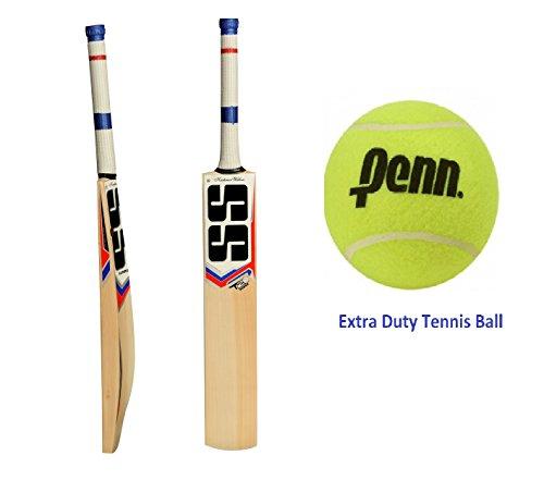 SS yuvi 20/20Cricket Bat mit COSCO Cricket-Ball/Tennisball Shipping (Bat Cover enthalten): 2017Edition
