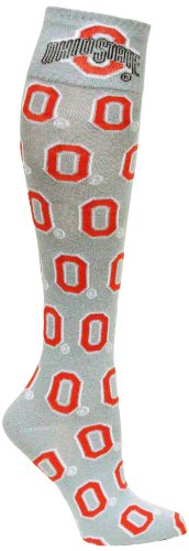 Donegal Bay NCAA Ohio State Buckeyes O Kleid Socken, Grau (Männer State Buckeyes Schuhe Ohio)