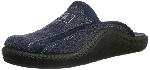 Romika Mokasso 246, Herren Pantoffeln, Blau (Marine 503), 44 EU