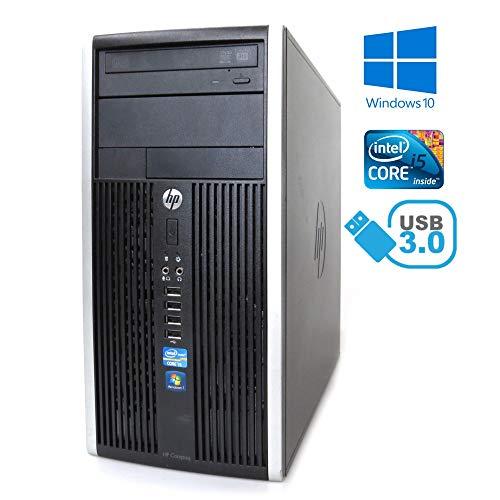 HP - 6300 Tower Intel Core i5-3470 Processor (6M Cache up to 3.60 GHz) 4096Mb DDR3, HDD 500 GB, DVD-RW. Windows 10 PROFESSIONAL (Ricondizionato CERTIFICATO)