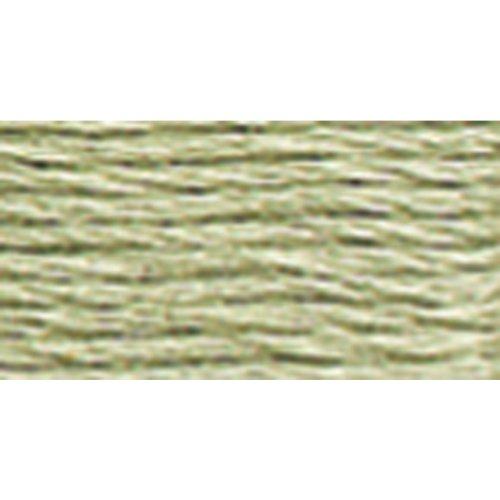 DMC 117-524Sechs gestrandet Baumwolle Sticktwist, Sehr leicht Fern Green, 8.7-Yard -