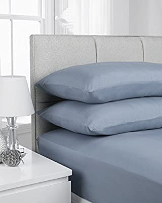 "Extra Deep 16""/40CM, Standard 23CM/9"" Fitted Sheets by NIYS Luxury Bedding - inexpensive UK light shop."