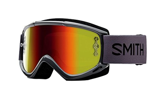 SMITH MX Goggle V1 Max charcoal red mirror
