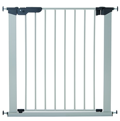 BabyDan Premier Indicator Stair Gate Pressure Fit 73 - 80 cm silver - Collection 2015