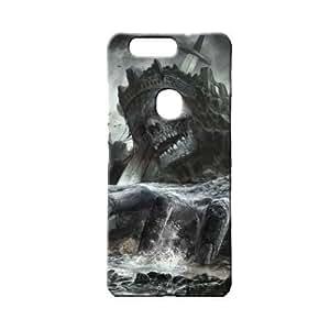 BLUEDIO Designer 3D Printed Back case cover for Huawei Honor V8 - G1212