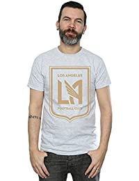 Majestic Homme MLS Los Angeles FC Logo T-Shirt Small Heather Gris