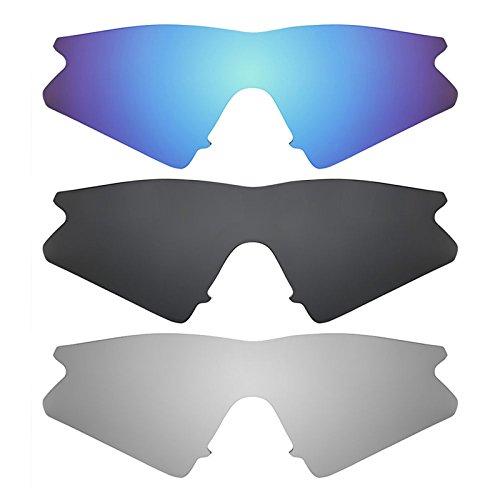 Revant Ersatzlinsen für Oakley M Frame Sweep Polarisiert 3 Paar Kombipack K015