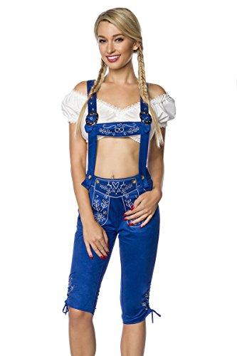 Heels-Perfect, Mules pour Femme Bleu
