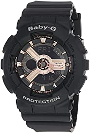 Casio Baby-G Women's Ana-Digi Dial Resin Band Watch - BA-110RG-