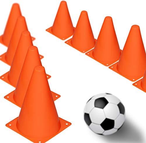 Leitkegel, Orange, 12er-Pack (Kleine Safety Cones)