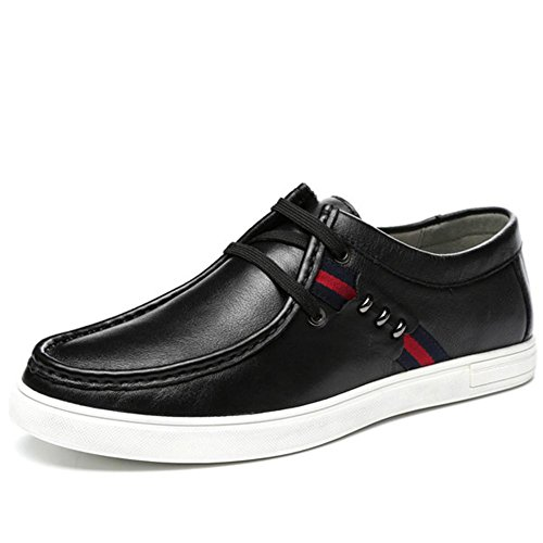 Automne hiver cuir véritable dentelle cuir Casual chaussures mode Classic chaussures Base épaisses