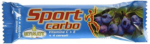 Ultimate Italia Sport Carbo Barretta Energetica 36 Barrette