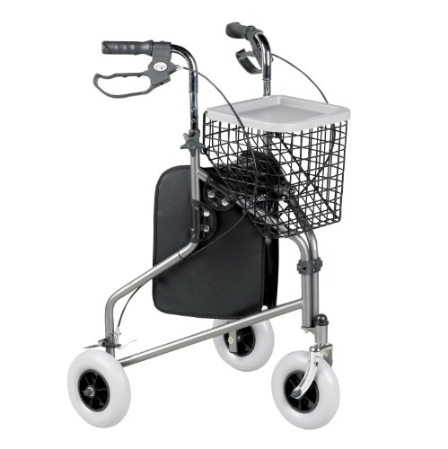 homecraft-09-116-9960-folding-3-wheel-tri-walker-with-lockable-cable-brakes-carry-bag-basket-and-tra